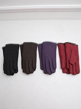 【YD-AC001]シンプルムードキルティング手袋
