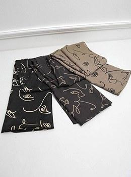 [YY-SC082]フェイスラインシックのスカーフ