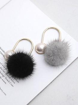 【YD-BR004]ミンク真珠のブローチ